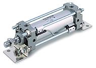 SMC标准气缸 CA2