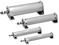 SMC标准气缸 CG1