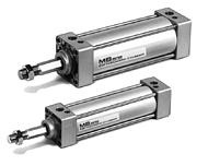 SMC标准气缸 MB