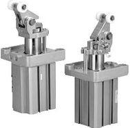 SMC气缸 RSA简易重载型止动气缸